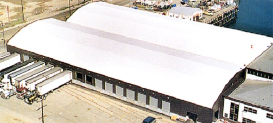 RUBB Building System / Fabric Tension Structure Berth 55 & RUBB Building System / Fabric Tension Structure Berth 55 u2013 McLean ...